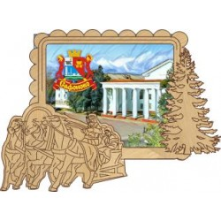 "Магнит ""Рославль 2-х ур._07"""