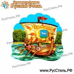 """Магнит """"Нижний Новгород Полистоун фигурный_06"""""""