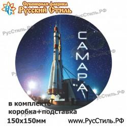 """!Магнит """"Брянск Полистоун фигурный_31"""""""