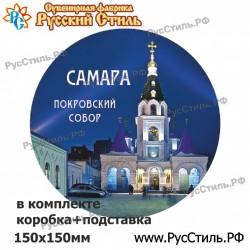 """!Магнит """"Брянск Полистоун фигурный_33"""""""