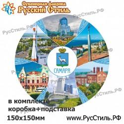 """!Магнит """"Волоколамск Полистоун фигурный_23"""""""