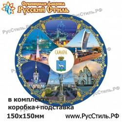 """!Магнит """"Волоколамск Полистоун фигурный_24"""""""