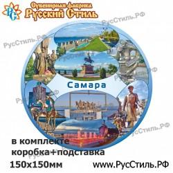 """!Магнит """"Волоколамск Полистоун фигурный_25"""""""