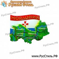 """!Магнит """"Саратов Полистоун фигурный_24"""""""