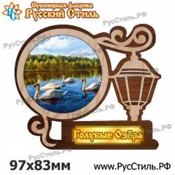 """Магнит """"Асбест Полистоун фигурный_12"""""""