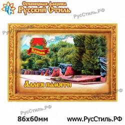 """Магнит """"Курск Тарелка керамика малая_05"""""""