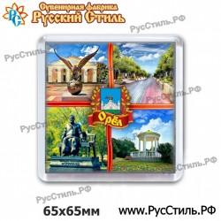 """!Магнит """"Псков Полистоун фигурный_35"""""""