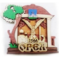 """Магнит """"Киржач Полистоун фигурный_16"""""""