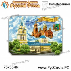 """Тарелка 100 """"Верхняя Пышма _01"""""""