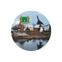 """Тарелка 100 """"Северодвинск_01"""""""