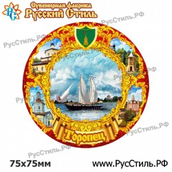 """Тарелка 100 """"Северодвинск_04"""""""