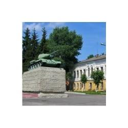 """Магнит """"Курчатов Указатель_01"""""""