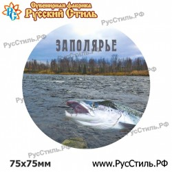 "Магнит ""Мурманск Тарелка керамика 75_02"""