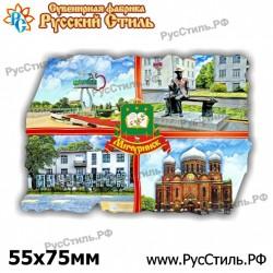 """Тарелка 100 """"Челябинск_02"""""""