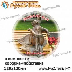 "Магнит ""Томск Тарелка керамика 75_07"""