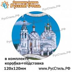 "Магнит ""Томск Тарелка керамика 75_14"""