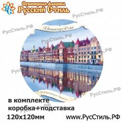"Магнит ""Томск Тарелка керамика 75_15"""