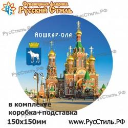 """Тарелка 100 """"Томск_08"""""""