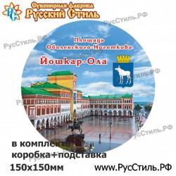 """Тарелка 100 """"Томск_09"""""""