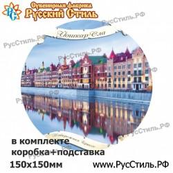"""Тарелка 100 """"Томск_14"""""""