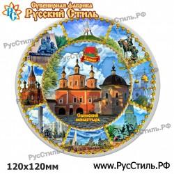 """Тарелка 240 """"Железногорск_02"""""""