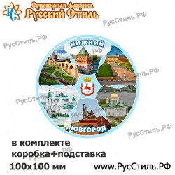 "Тарелка 100 ""Нижний Новгород_19"""