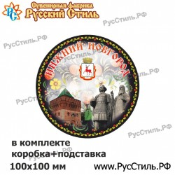 "Тарелка 100 ""Нижний Новгород_26"""