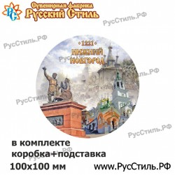 "Тарелка 100 ""Нижний Новгород_28"""