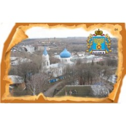 "Магнит ""Торжок Тарелка керамика_15"""