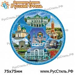 """Магнит """"Жуковка 2-х ур._08"""""""