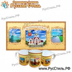 """Тарелка деревянная Большая """"Карачев_02"""""""