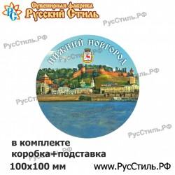 """Магнит """"Белгород 3-х ур. Перо_03"""""""