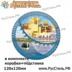 """Магнит """"Белгород Фотокристалл-бутылка_01"""""""