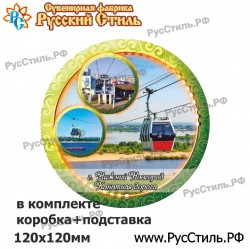 """Магнит """"Белгород Фотокристалл-бутылка_02"""""""
