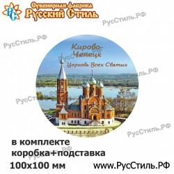 "Магнит ""Самара Полистоун плакетка_картина_01"""
