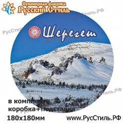 """Магнит """"Вязьма Тарелка керамика_02"""""""