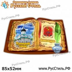 """Магнит """"Узловая 2-х ур._04"""""""