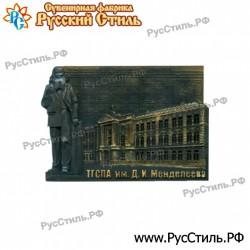 """Тарелка деревянная Большая """"Губкин_02"""""""